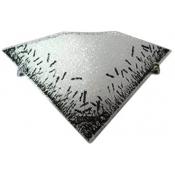 چراغ دیواری مدل مزرعه مثلثی شیشه ای