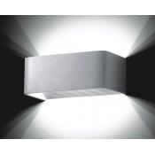 چراغ دیواری – دکوراتیو 12 وات سفید مدل MJ842