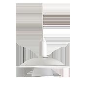 چراغ آویز رفلکتوری مازی نور مدل آنجلا