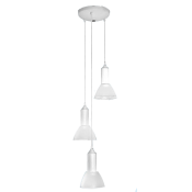 چراغ آویز سه شاخه مازی نور مدل آنجلا