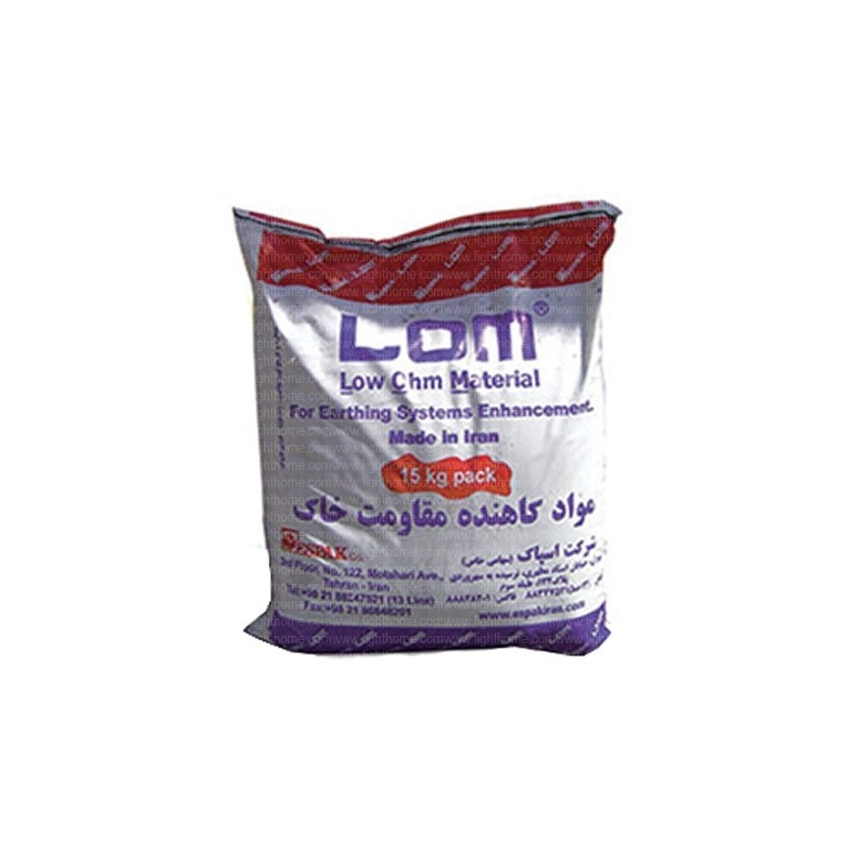 مواد کاهنده مقاومت زمین LOM