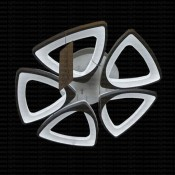 چراغ سقفی ال ای دی 90 وات مدل RA-TP02