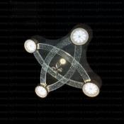 چراغ سقفی ال ای دی 85 وات مدل RA-GR17