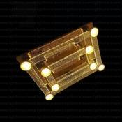 چراغ سقفی ال ای دی 128 وات مدل RA-GR28