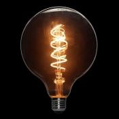 لامپ ادیسونی ال ای دی 3 وات مدل XLARGE GLOBE خاکستری روشن با رشته پیچی