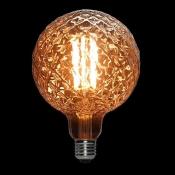 لامپ ادیسونی ال ای دی 8 وات مدل XLARGE GLOBE خاکستری روشن
