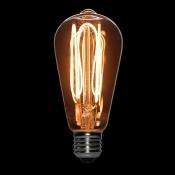 لامپ ادیسونی 3 وات LED مدل BLST64 حباب خاکستری روشن