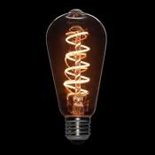 لامپ LED ادیسونی 3 وات مدل BLST64 پیچی خاکستری روشن