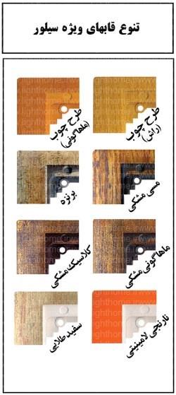 کلید و پریز دلند مدل سیلور با قاب ویژه - کلید و پریز سیلور دلند