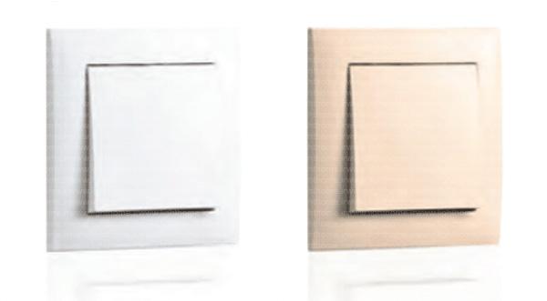 کلید و پریز ایفاپل مدل لوگوس - کلید و پریز efapel