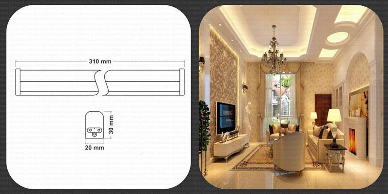 چراغ زیر کابینتی LED فاین با توان 5 وات- چراغ زیرکابنتی 5 وات LED
