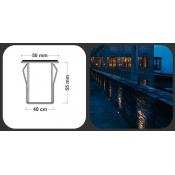 چراغ دفنی LED مدل FEC-C01-1606
