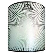 چراغ دیواری مدل خورشید شیشه ای چهار گوش