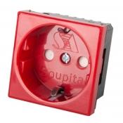 پریز برق 45 × 45 قرمز سوپیتا