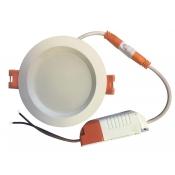 چراغ پنلی SMD توکار 7 وات نمانور (با درایور جدا)