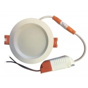 چراغ پنلی SMD توکار 9 وات نمانور (با درایور جدا)