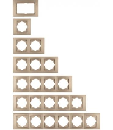 کلید و پریز مدرنا Moderna سری لوکس - با کادر اینوکس