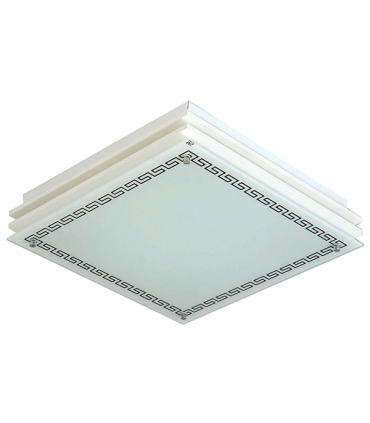 چراغ سقفی کاریکسی 40×40 مدل کلاسیک مربعی