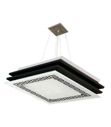 چراغ سقفی کاریکسی مدل کلاسیک مربعی