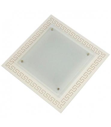 چراغ سقفی کاریکسی 40×40 مدل میلانو مربعی