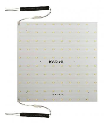 چراغ سقفی کاریکسی 50×50 مدل میلانو مربعی