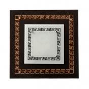 چراغ سقفی کاریکسی 40×40 مدل ورساچ مربعی