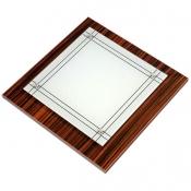 چراغ سقفی 30×30 کاریکسی مدل دیاموند هایگلاس