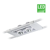 چراغ LED آویز مولتی دانلایت مازی نور مدل اوربیتال سه خانه 12.5 سانتی