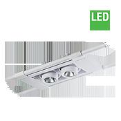 چراغ LED آویز مولتی دانلایت مازی نور مدل اوربیتال چهارخانه 12.5 سانتی