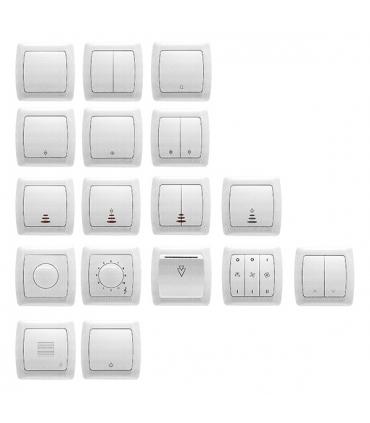 کلید و پریز ویکو - مدل Carmen Opaque