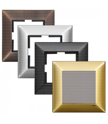 کلید و پریز ویکو سری Artline مدل Trenda