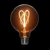 لامپ ادیسونی ال ای دی 3 وات مدل XLARGE GLOBE خاکستری روشن