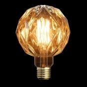 لامپ LED ادیسونی 8 وات مدل BLG150 با حباب قهوه ای روشن