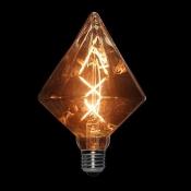 لامپ LED ادیسونی 6 وات مدل BLG110 حباب قهوه ای روشن