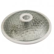 چراغ سقفی سنسوردار اسپیک مدل SP07 طرح حصیری شفاف