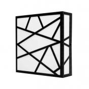 چراغ سقفی مربع هاتو مدل مثلثی 2525T