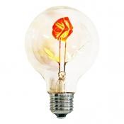 لامپ ادیسونی 3 وات انگاره مدل Rose Bulb (گل رز)