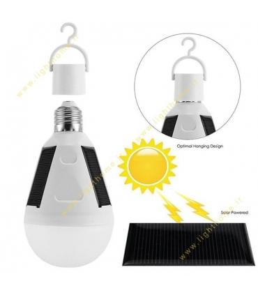 لامپ ال ای دی 8 وات ضد آب ABIZ با قابلیت استفاده از انرژی خورشیدی و برق