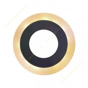 پنل SMD روکار گرد 12+12 وات زاک (وسط سفید دور آفتابی یا آبی)