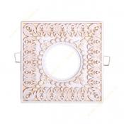 قاب هالوژن سقفی سفید طلایی NB کد 516