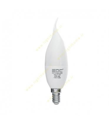 لامپ ال ای دی 5 وات شمعی مات EDC