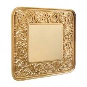 کلید و پریز آنتیکو سری FIORE با کادر طلایی