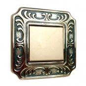 کلید و پریز آنتیکو سری VITA طلایی با کادر پتینه یشمی