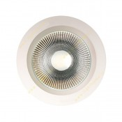 چراغ سقفی توکار 20 وات COB پشت سفید EDC