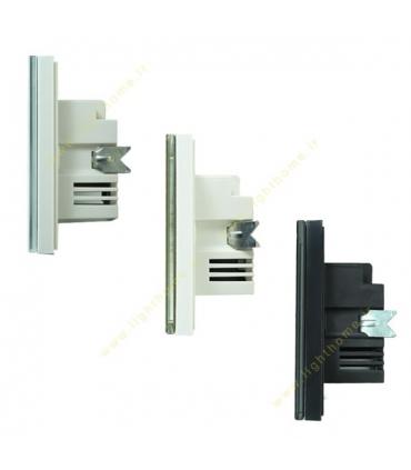 کلید و پریز لمسی (تاچ) دو پل روشنایی نستک (NESTECH)