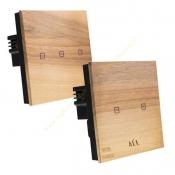 کلید لمسی هوشمند چوبی گلدوِر مدل WOODLAND