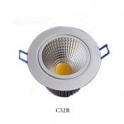 چراغ COB توکار 5 وات سانلوکس مدل C52R