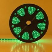 ریسه شیلنگی تخت دو ردیفه EDC LED