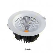 چراغ COB توکار سقفی 60 وات سان لوکس مدل D604R