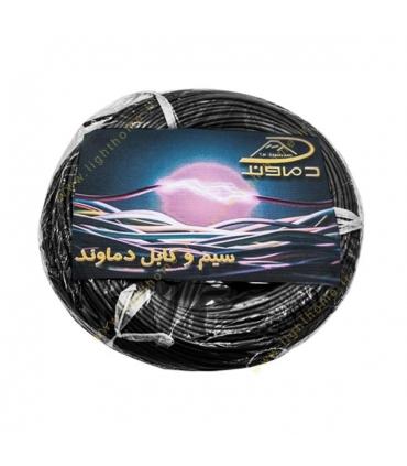 سیم برق افشان و مفتولی سایز 16 تا 300 دماوند با عایق PVC